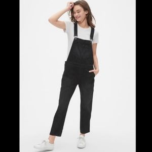 Relaxed fit denim overalls, Gap